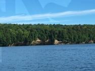 Pictured Rocks shore